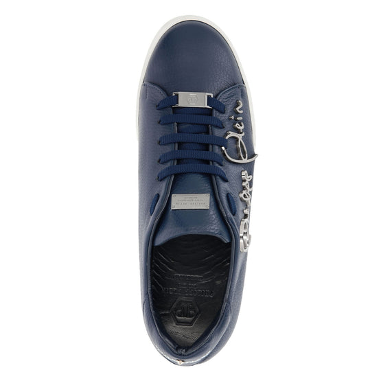 Lo-Top Sneakers Signature - Dark Blue