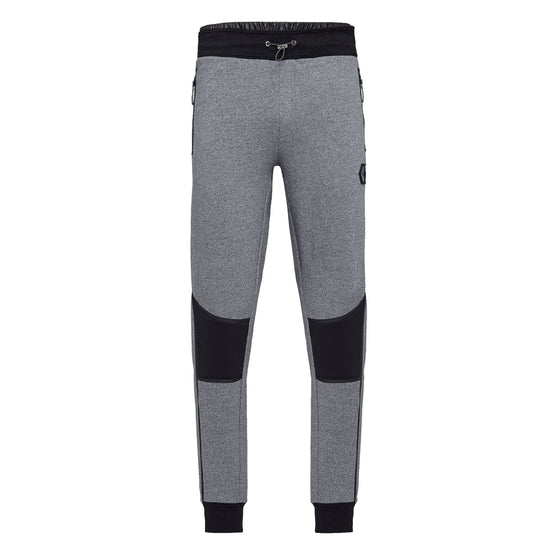 Jogging Trousers Logos - Grey