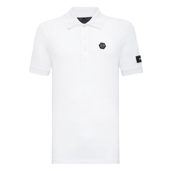 Polo shirt SS All over PP - White