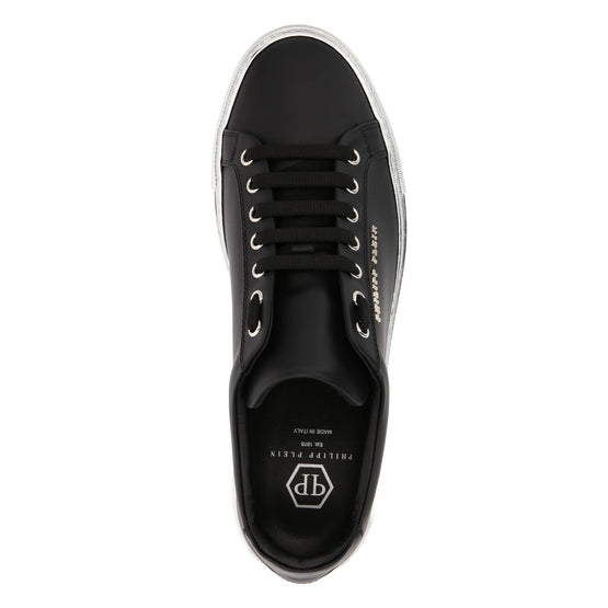 Lo-Top Sneakers Statement - Black/Nickel