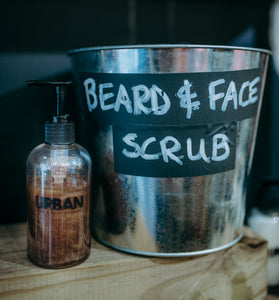 Beard & Face Scrub
