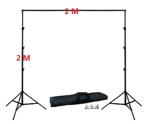 Photography Background Support Stand Kit 6.5 x 6.5 ft