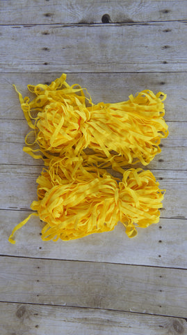 10 Yards Canary Yellow Lingerie Elastic 5/16 Inch