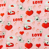 Puppy Love European Cotton Lycra Knit Jersey Fabric