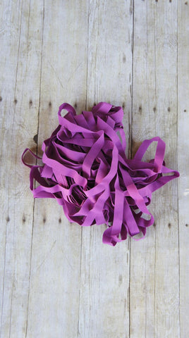10 Yards Fuchsia Applique Lingerie Elastic 3/4 Inch