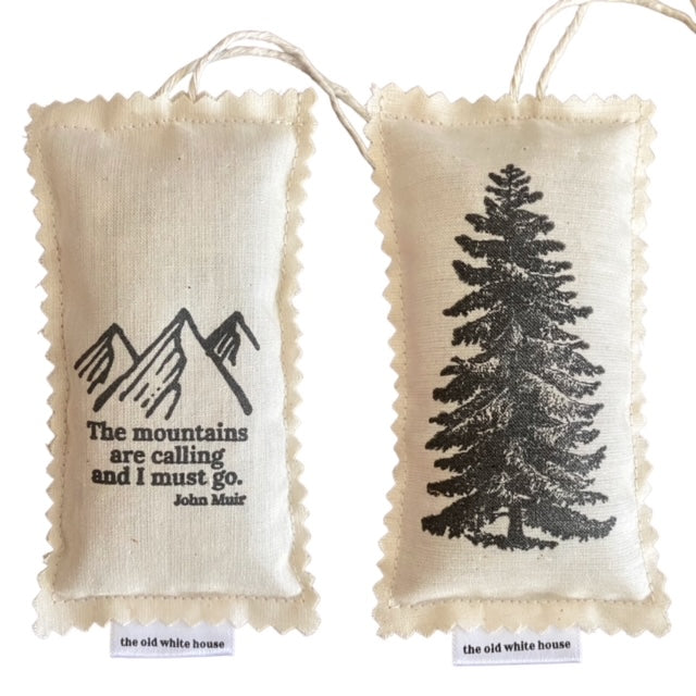 PNW forest herbal car fresheners