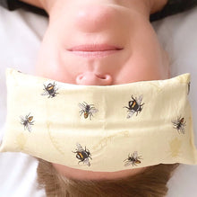 Load image into Gallery viewer, lavender & flaxseed eye pillow