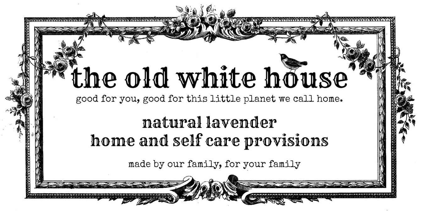 The Old White House|natural lavender cleaning products