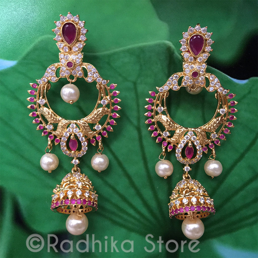 Heavenly Bells Earrings - Bollywood Collection