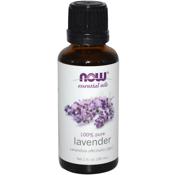 NOW Foods Essential Oils Lavender - 1 fl oz