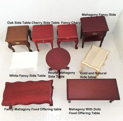 Mahogany Fancy Offering Table