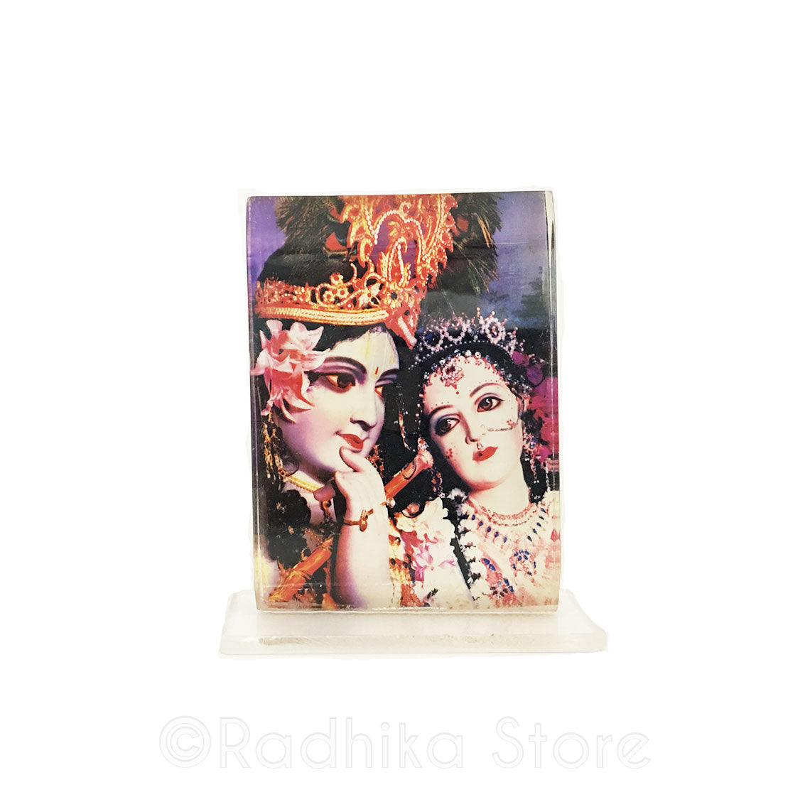 Beautiful Radha Krishna Acrylic Picture-