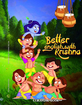 Better English With Krishna (Coloring Book)