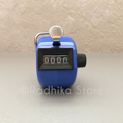 Japa Clicker (Hand Tally) for chanting Hare Krishna Mahamantra - Choose color