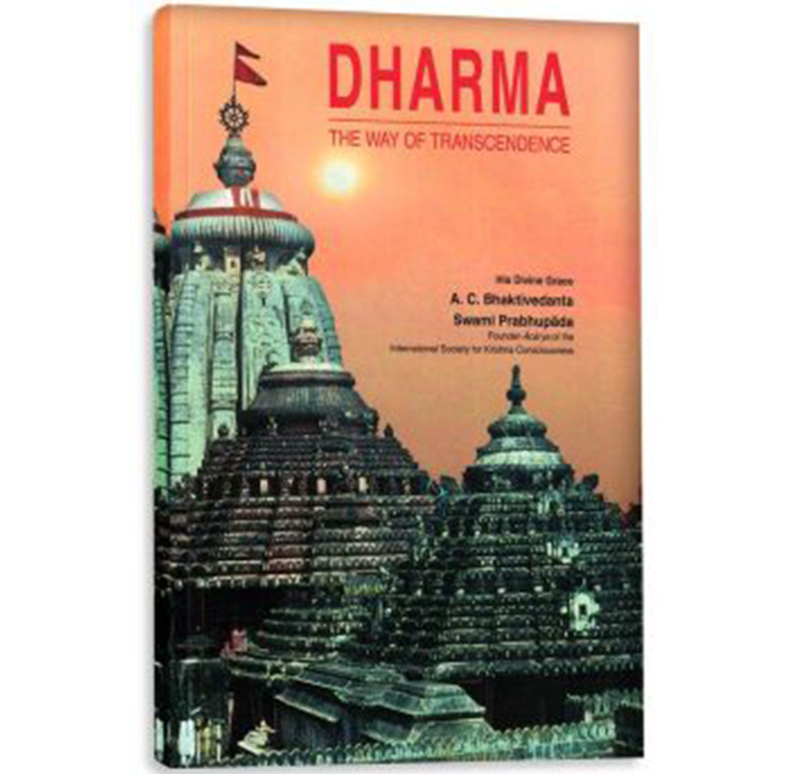 Dharma The way of Transcendence - Medium-  Soft Cover