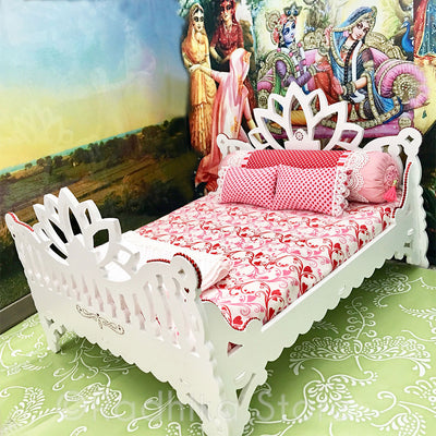 "White Lotus Madana Mohana 14 1/2"" Inch Bed"