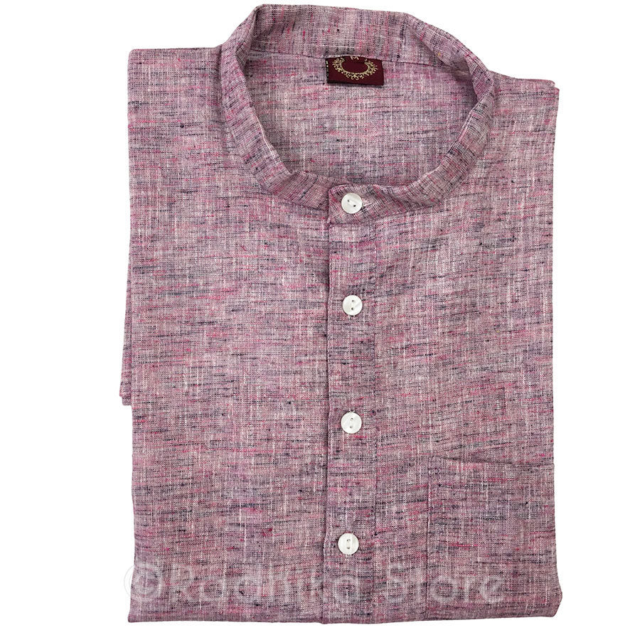 Lavender Blueberry Ice-Cream Tweed- Jute Kurtas - S,m,l,xl,xxl,3xl