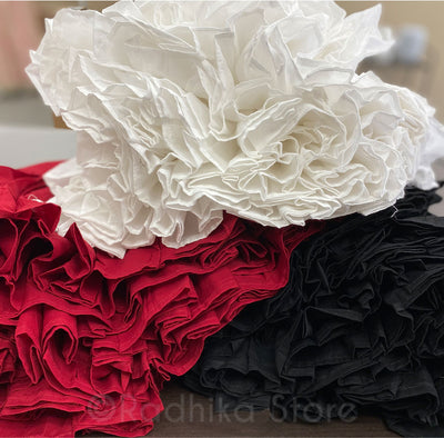 Maroon Cotton Twirling Petticoat/ Slip - S, M, L- (8 Meters Fabric)