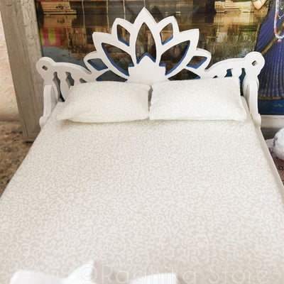 "Hare Krishna Lotus Bed - 8"" Inch"