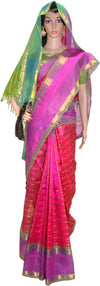 Holy Colors - Silk Cotton Saree
