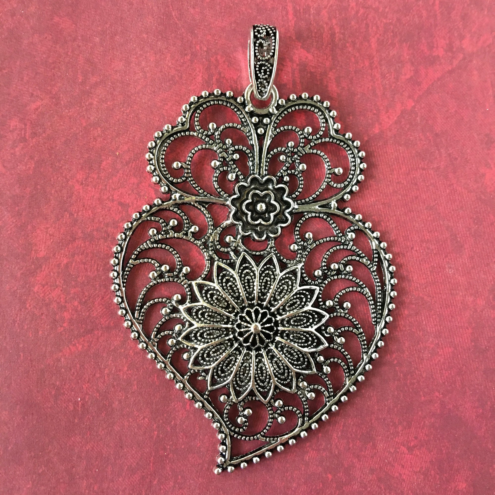 Bhakti Hearts And Flowers - Pendant