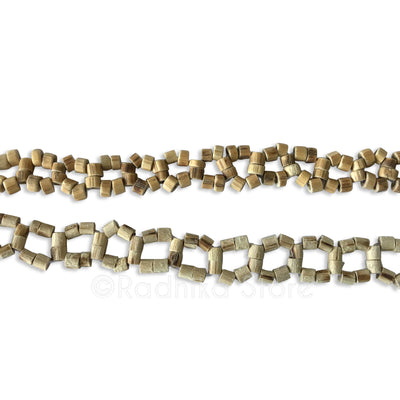 Wheel Cut Tulsi Neck Beads - 1 Round