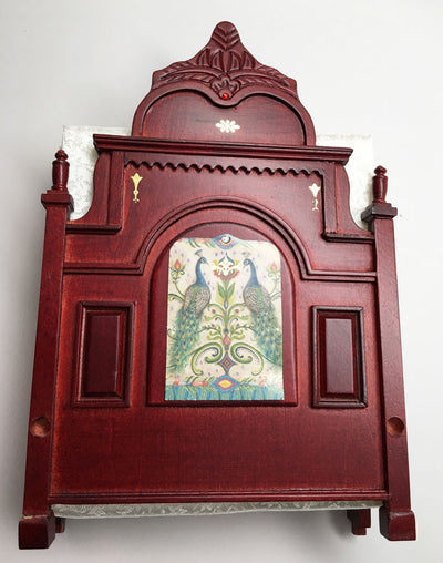 Mahogany Royal Peacock Bed