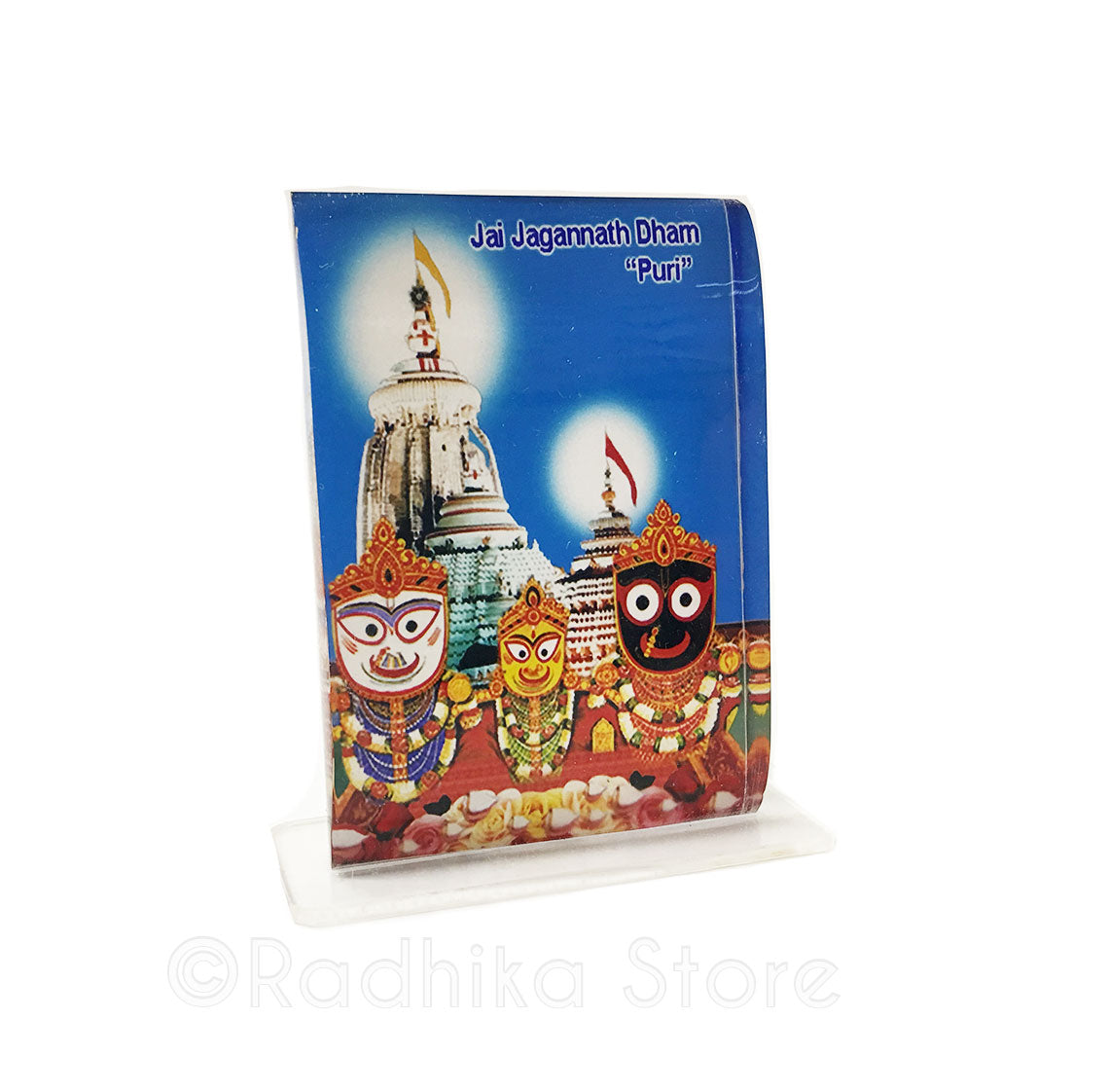 Lord Jagannath Puri Blue Sky Acrylic Picture- Choose Size
