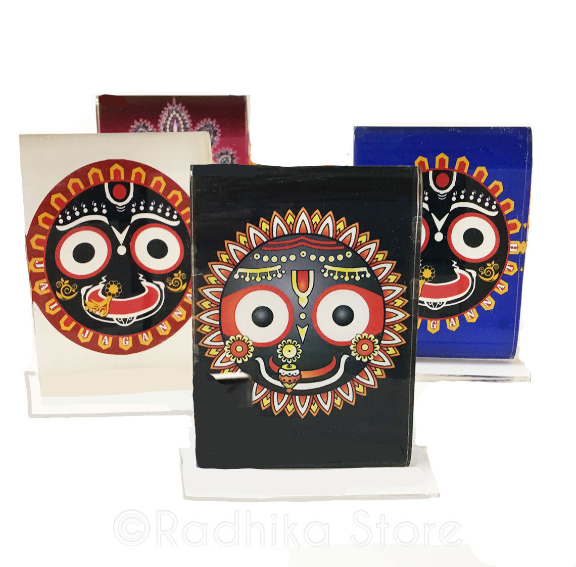 Lord Jagannath Smile Acrylic Picture- Choose Color