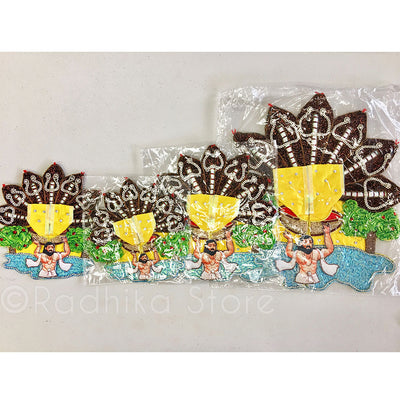 "Sri Krishna Janmashtami - Laddu Gopal Outfit   1"" to 6"" Inch sizes"