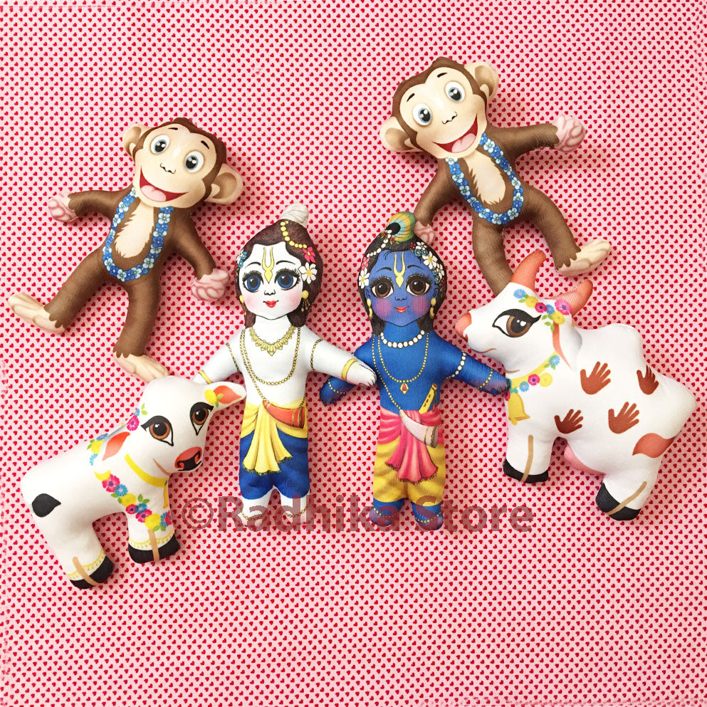 Lord Krishnas Monkeys - Transcendental Dolls