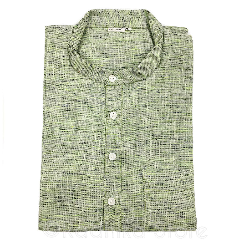 Lime Green Tweed Jute Kurtas - S,m,l,xl,xxl