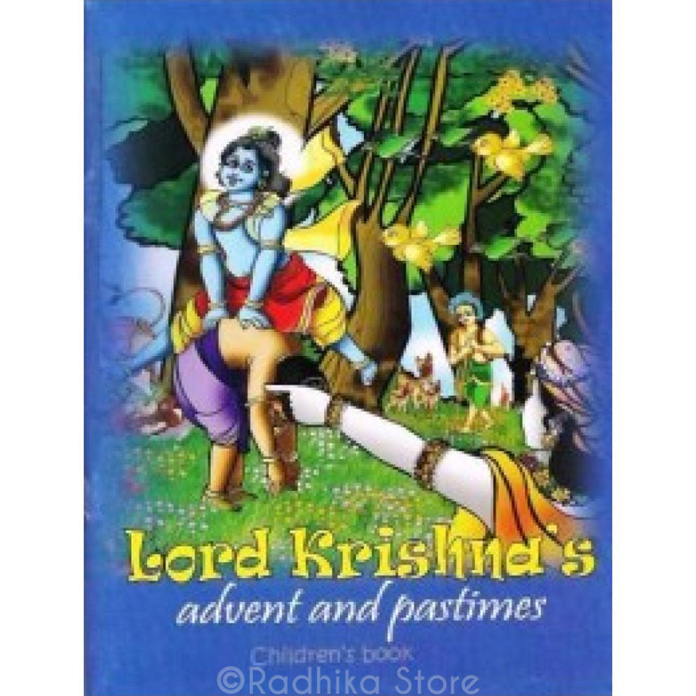 Lord Krishna's Advent and Pastimes- Children's Book