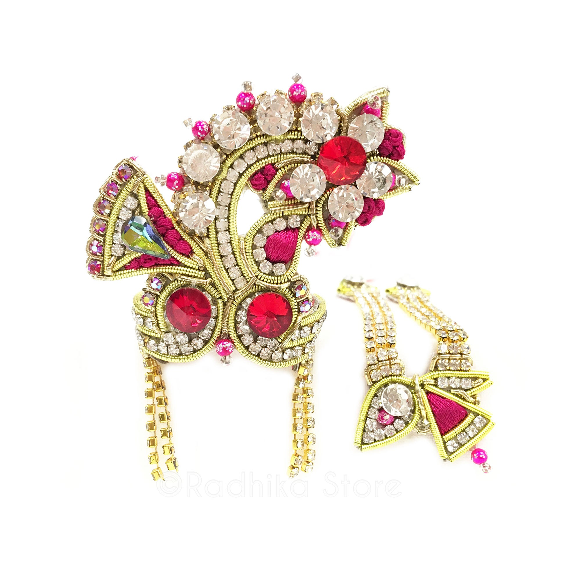 Manjari - Deity Crown and Necklace Set