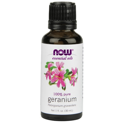 NOW Foods Essential Oils Geranium - 1 fl oz