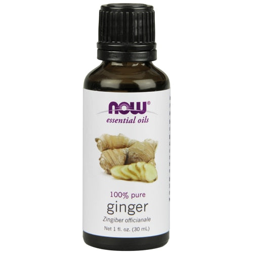NOW Foods Essential Oils Ginger - 1 fl oz