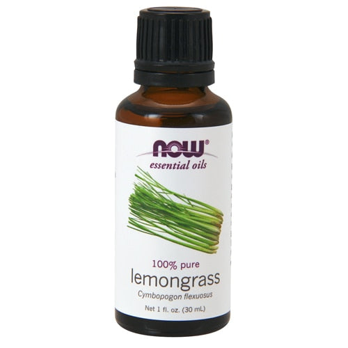 NOW Foods Essential Oils Lemongrass - 1 fl oz