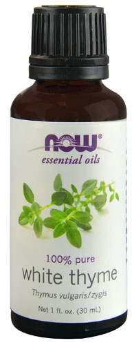 NOW Foods Essential Oils White Thyme - 1 fl oz