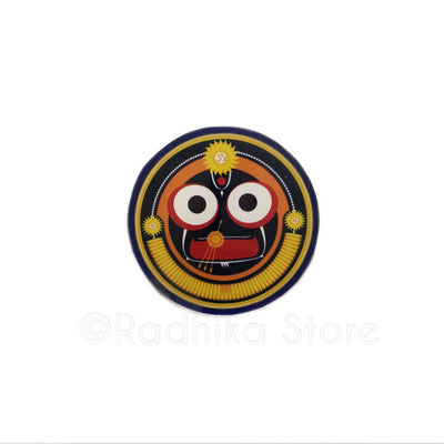 Jagannath OM Sunshine Chakra Acrylic Button