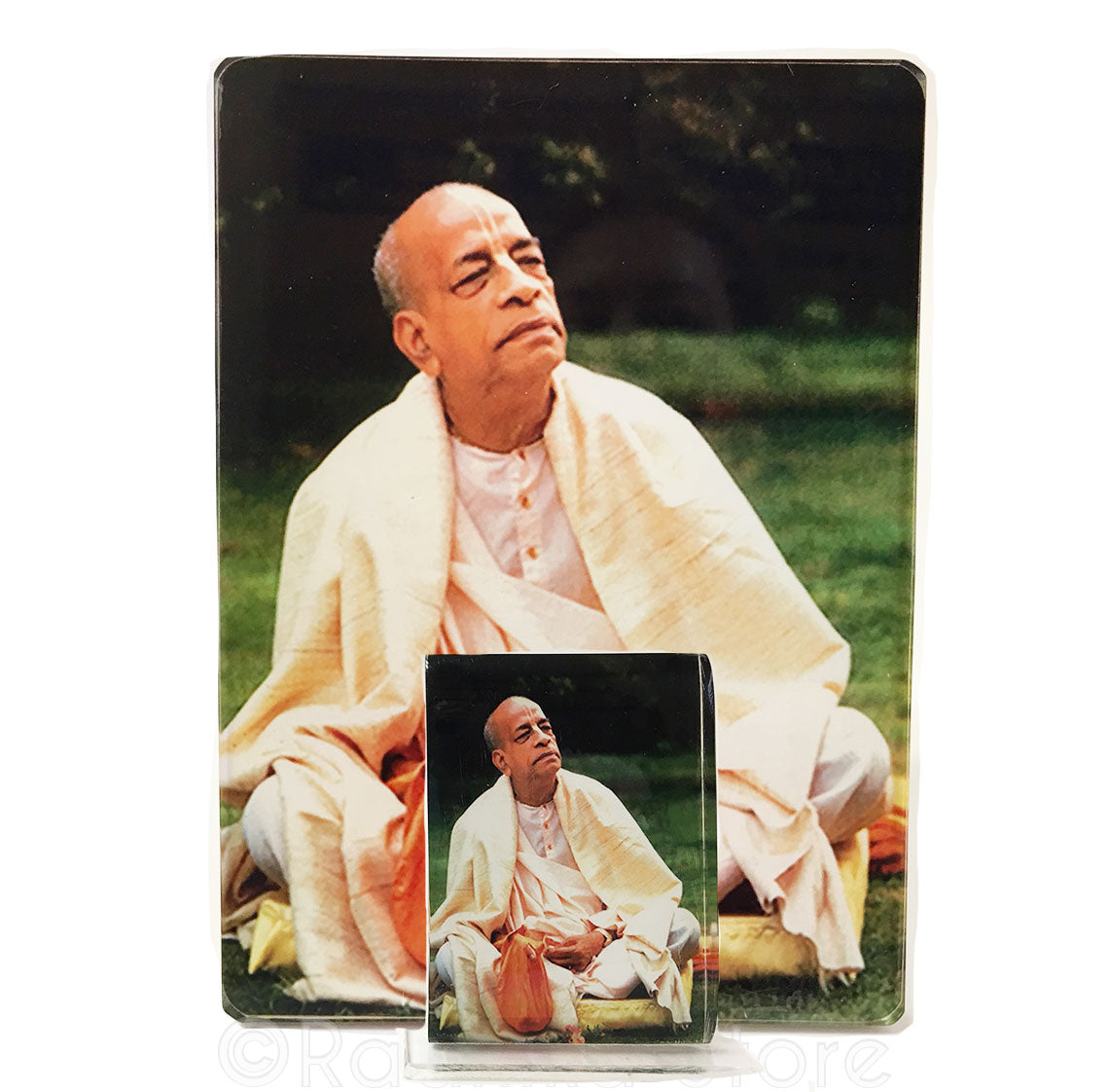 Srila Prabhupada in Gardan Acrylic Picture- Choose size