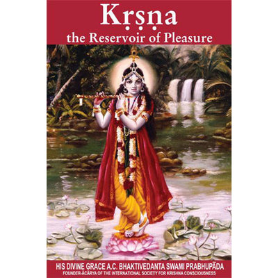 Krsna, The Reservoir of Pleasure- Pamphlet