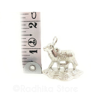 Silver Altar Cow With Calf