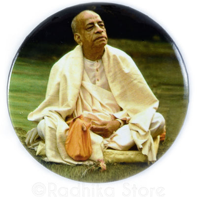 Srila Prabhupada Chanting Jappa Button