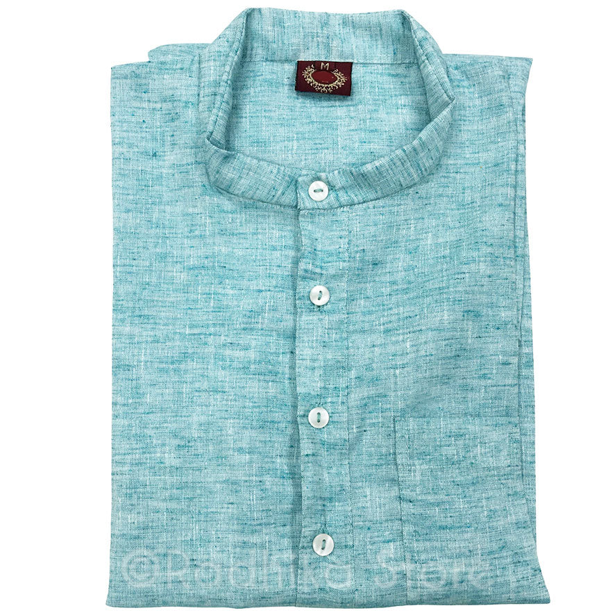 Sea Green Jute Kurtas - S,m,l,xl,xxl,3xl