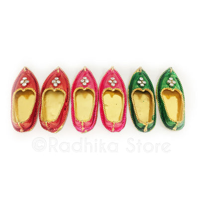 Copy of Lord Krishna's Shoes - Size Large-  Choose Color