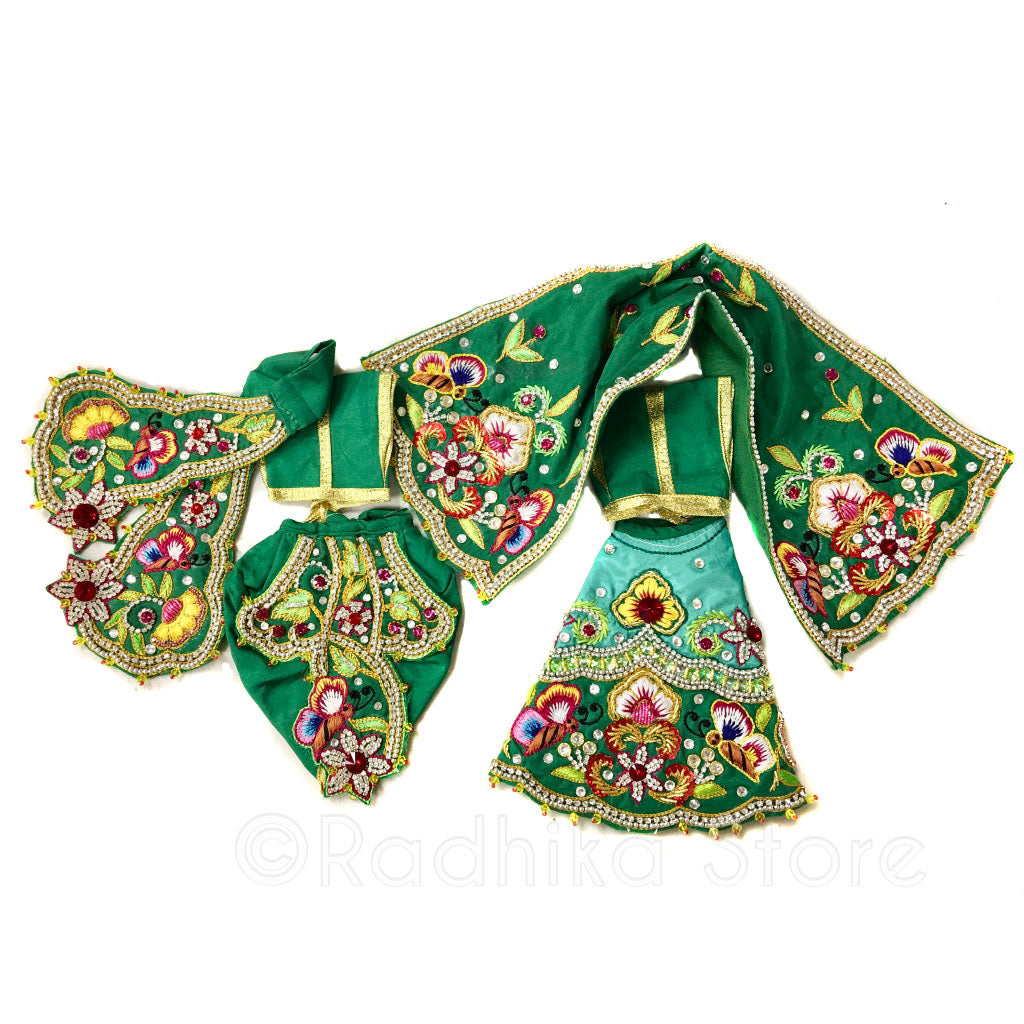Vrindavan Forest Outfit - (Radha Krishna)
