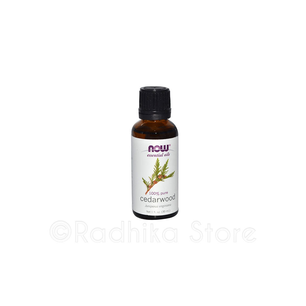 Cedarwood Essential Oil - 1 fl oz- NOW Foods