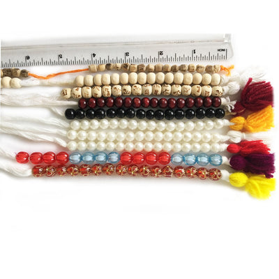 Amber Faux Japa Counting Beads