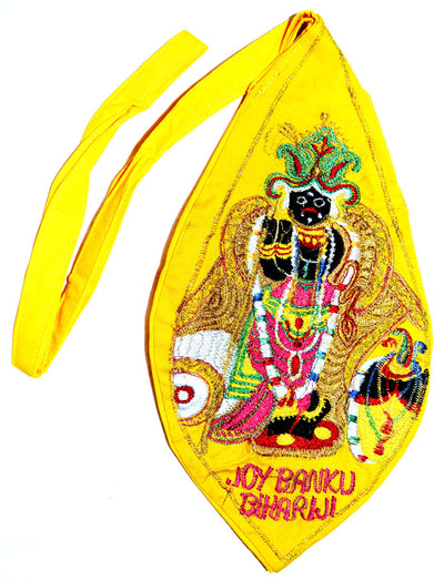 Banke Bihari Bright - Bead Bag