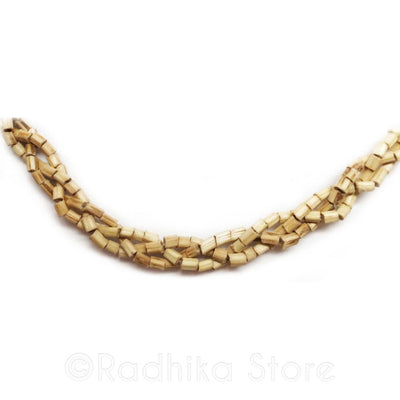 Braided Tulsi Neck Beads - 1 Round